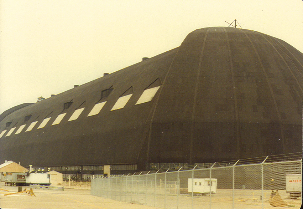 Goodyear Airship Hangar in Akron Ohio